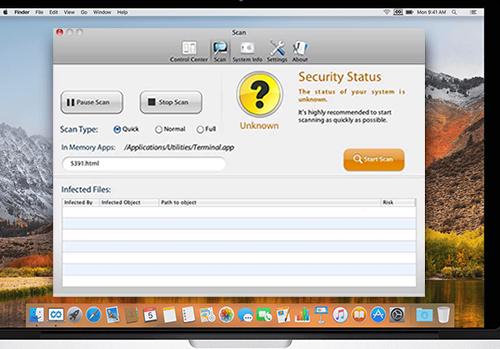 OdstrániťMacSecurityPlus Virus