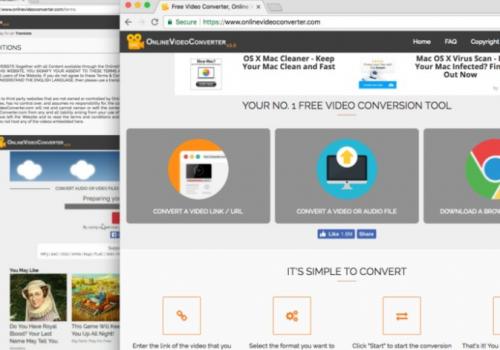 EltávolítOnlinevideoconverter.com Virus