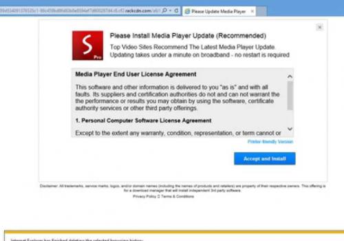 Fjern Rackcdn.com fra Chrome, Firefox og Microsoft Kanten
