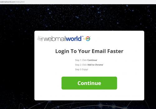 Nasıl Kaldır WebmailWorld virus?