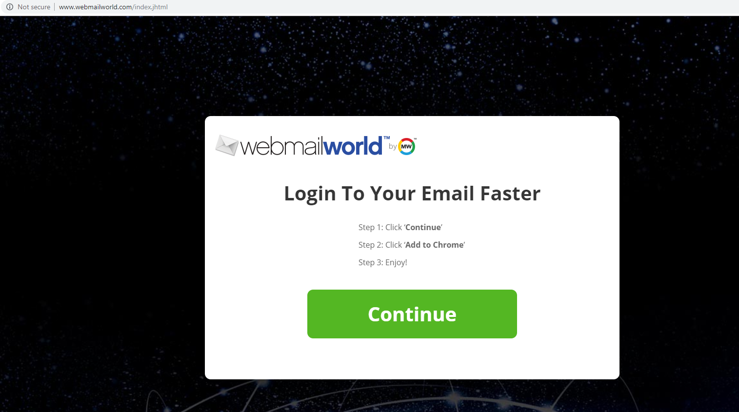WebmailWorld virus — как снять?