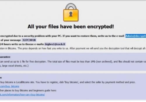 Btix Ransomware-. btix Files Virus Odstranění