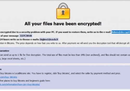 Btix ransomware-. btix Files Virus Retiro