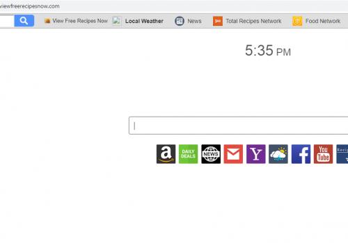 Remove search.hviewfreerecipesnow.com from Chrome. Firefox and Microsoft Edge