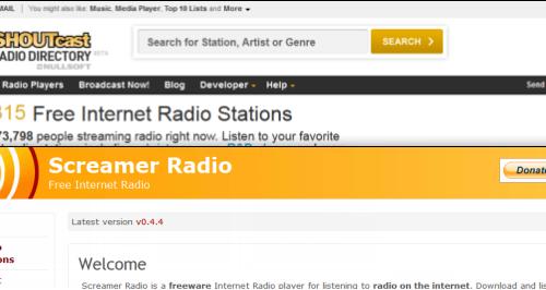 VerwijderenFree Streaming Radio