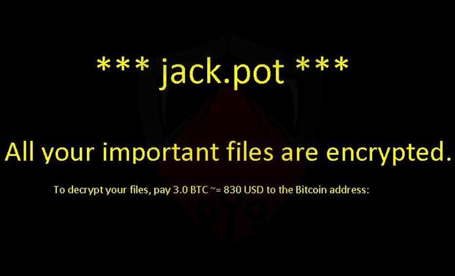 ΚαταργήσετεJack Ransomware