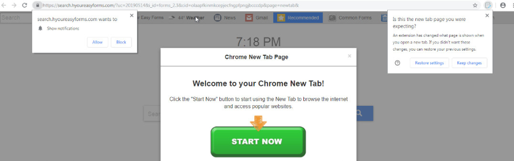 Remove Searchred com browser virus