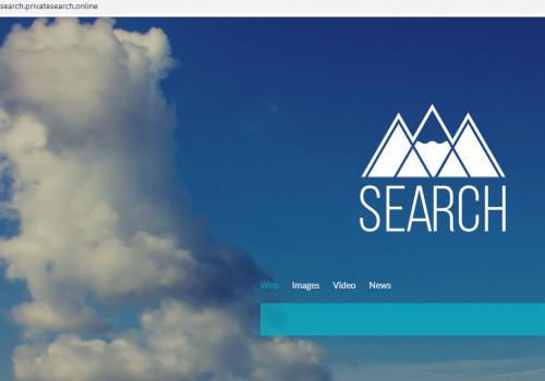 ΚαταργήσετεSearch.privatesearch.online