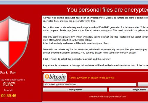 Fjern Armageddon Ransomware -. Armageddon fil virus