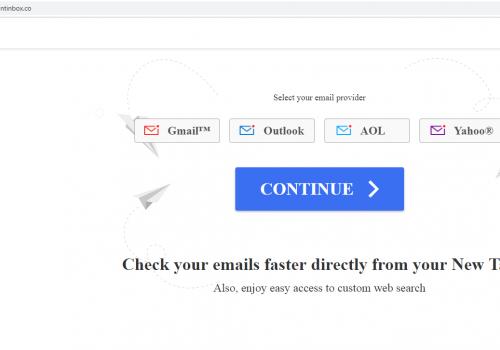 Hapus Instantinbox.co- Instant Inbox penghapusan