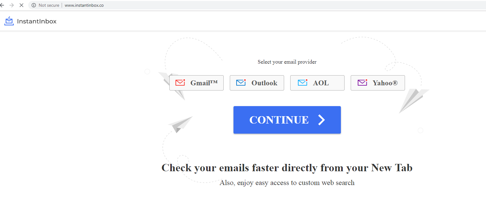 Supprimer Instantinbox.co – Instant Inbox suppression