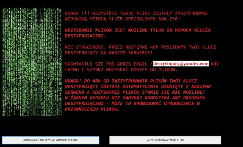 Poistaa [LOCKED] ransomware
