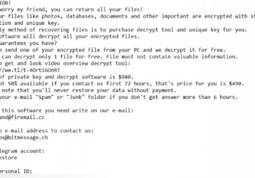 Fjern Myskle Ransomware – .Myskle file virus