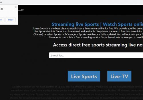 Πώς να αφαιρέσετε Stream2watch.org