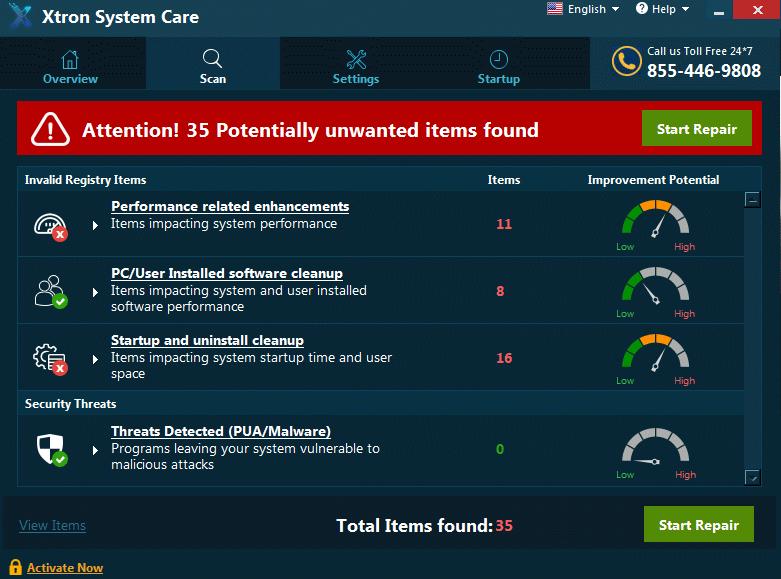 Xtron System Care