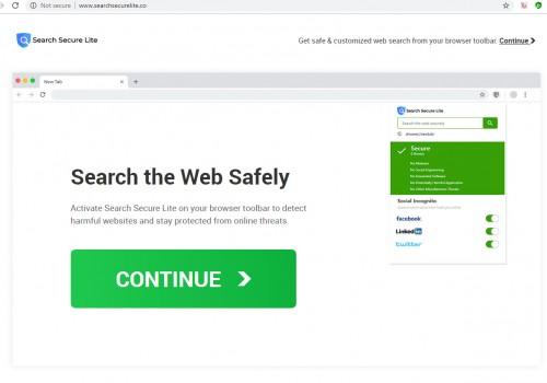 Jak usunąć Searchsecurelite.co