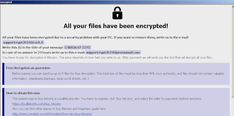 How to remove Adame Ransomware