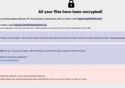 Odstrániť Adame ransomware