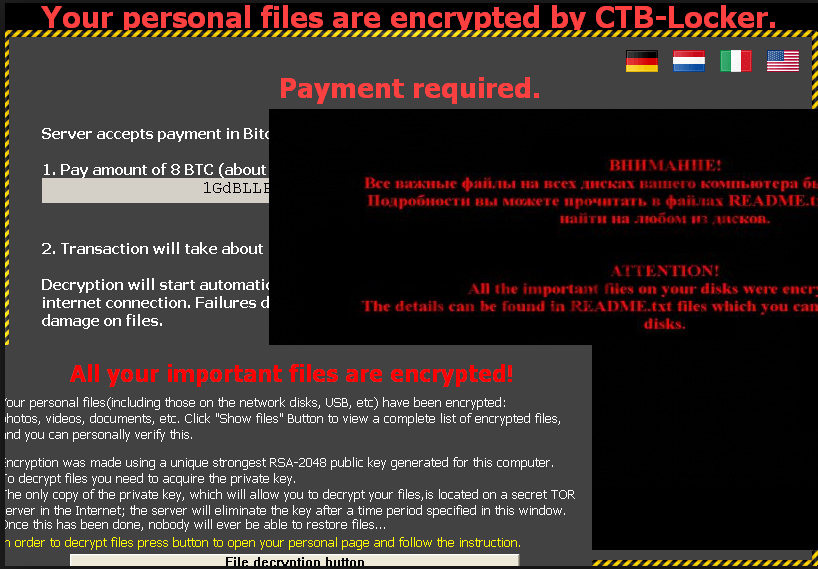 Cara menghapus CTB Locker virus