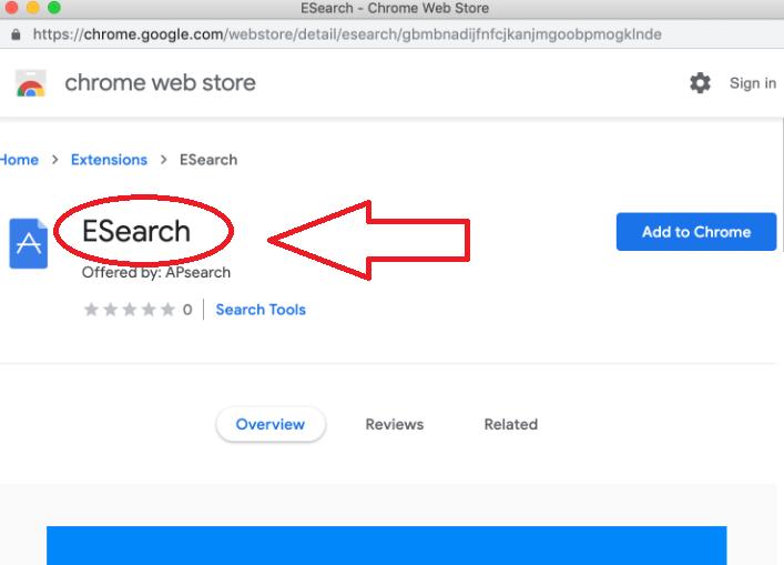ESearch Browser Hijacker