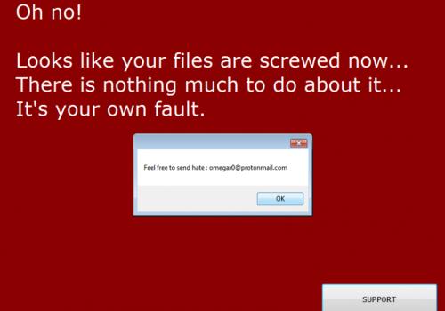 Odstrániť Ims00ry ransomware