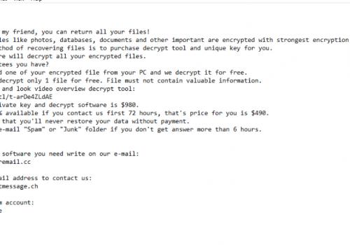 Remove .herad file virus