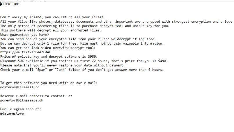 Fjerne .herad file virus