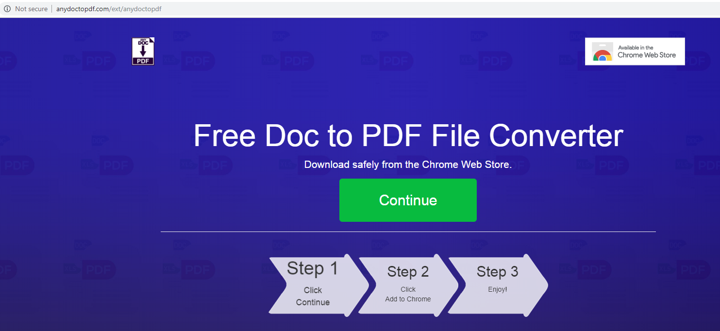 AnyDocToPdf Redirects