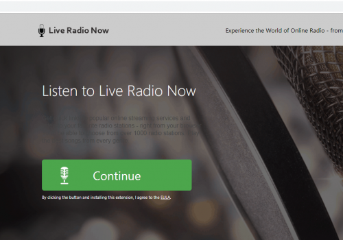 วิธีการเอาออก Live Radio Now