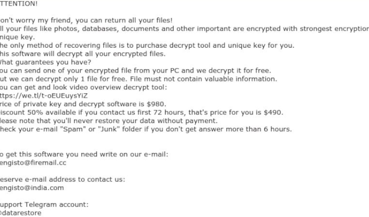 ازاله Verasto ransomware