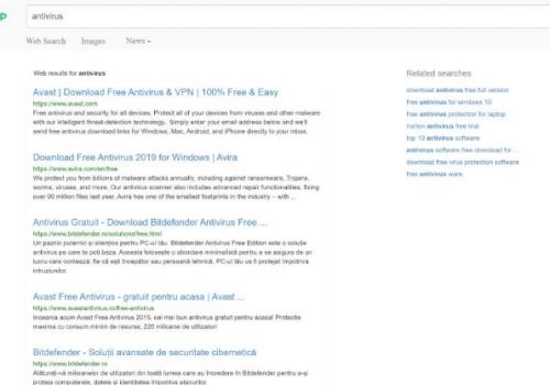 Odebrat FnP Search Virus
