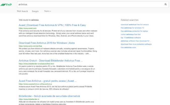 FnP Search Virus