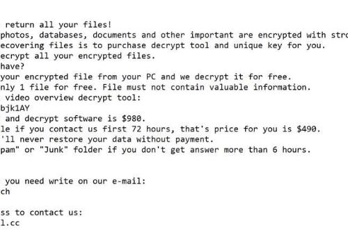 Odebrat Meds ransomware
