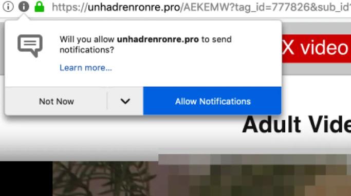 Enlever Unhadrenronre.pro
