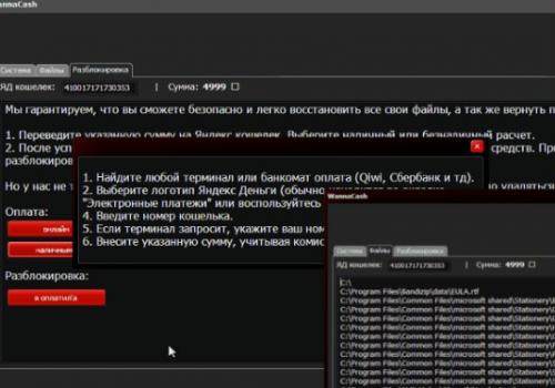 Remover WannaCash ransomware