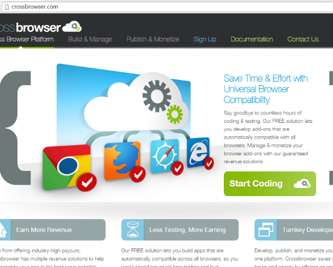 Enlever CrossBrowser