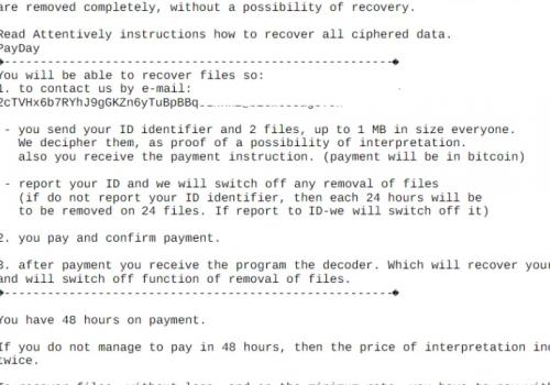 Remove .Deal file virus