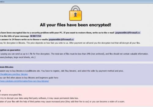 Poistaa [Jacklee@airmail.cc].UTA ransomware