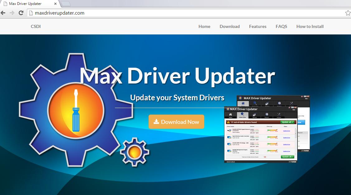Menghapus Max Driver Updater