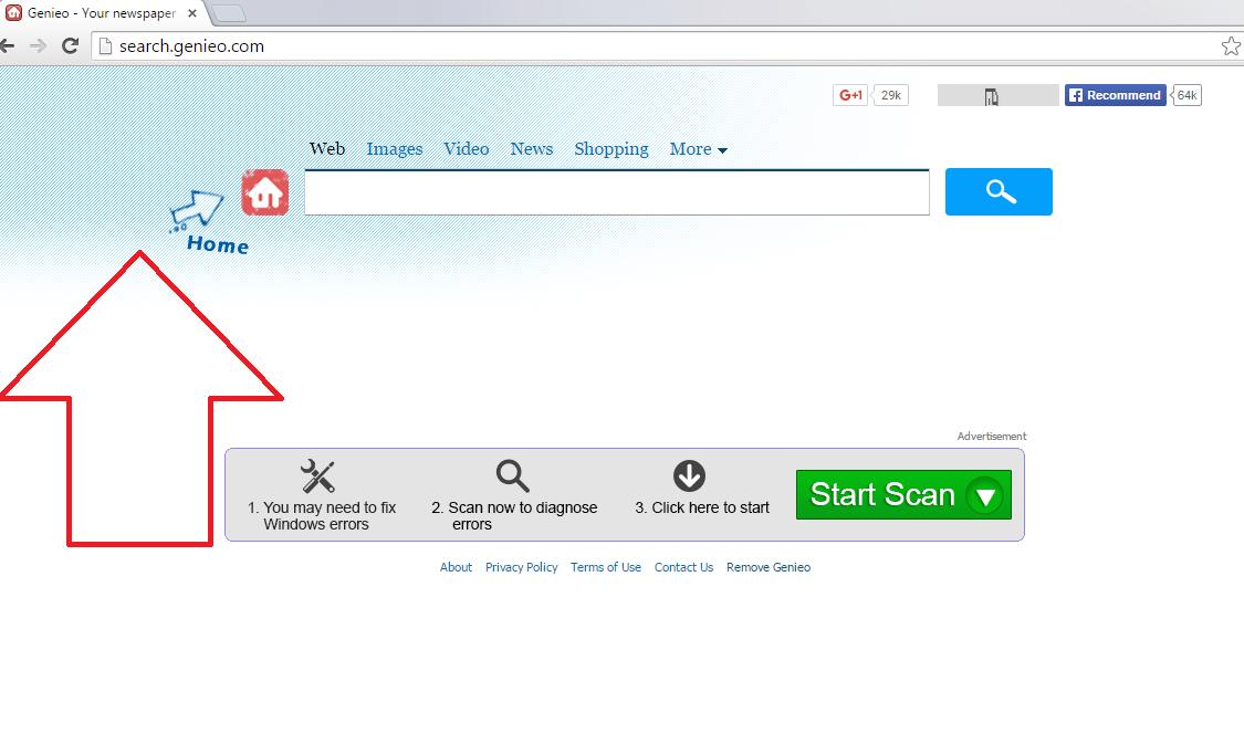 Search.genieo.com-removal