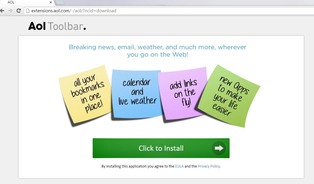 AOL Toolbar-