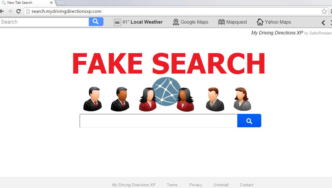 Search.mydrivingdirectionsxp.com-