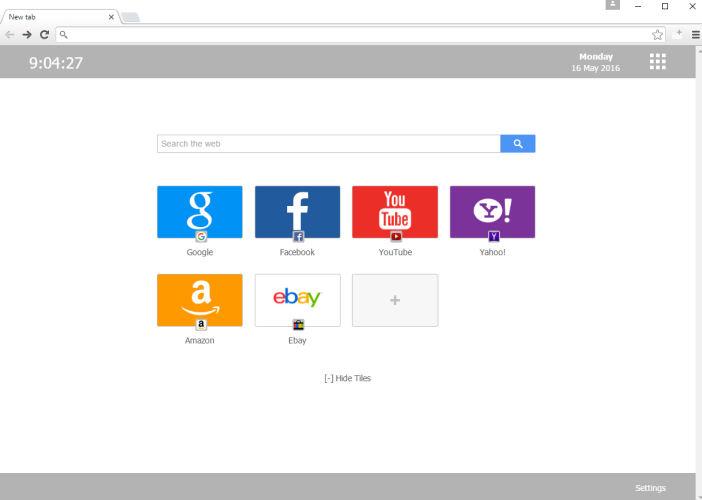 MyFastDial One New Tab