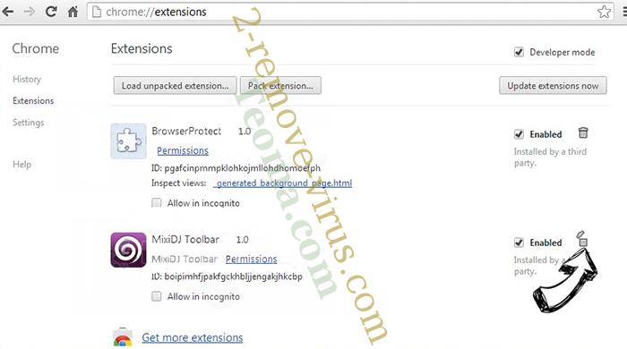 Searchanonymo.com Chrome extensions remove