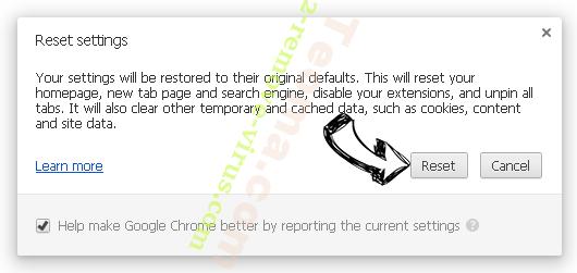 Searchanonymo.com Chrome reset
