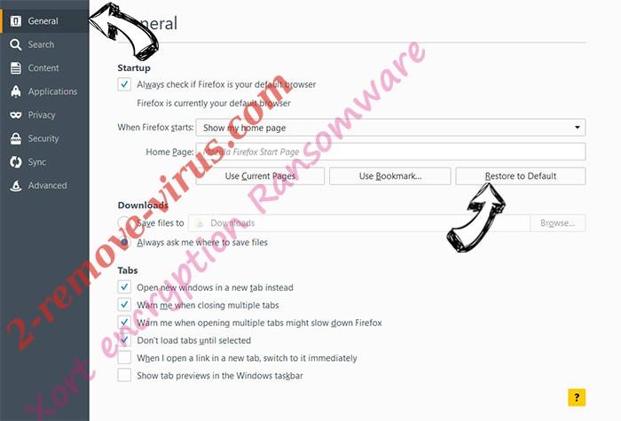 N19.biz pop-ups Firefox reset confirm