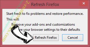 Urgent Firefox Update Virus Firefox reset confirm