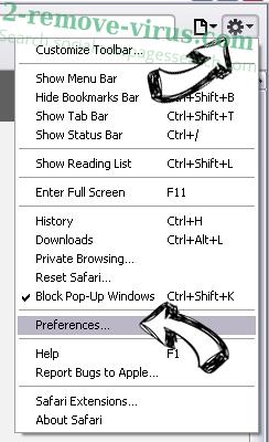 Urgent Firefox Update Virus Safari menu