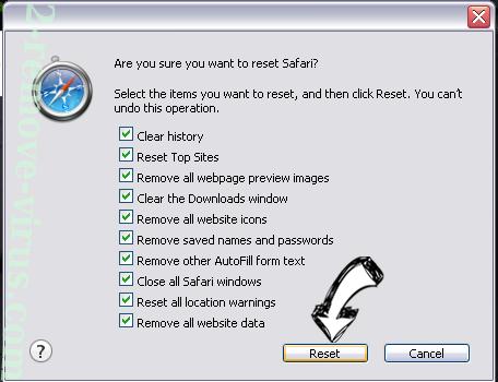 Urgent Firefox Update Virus Safari reset