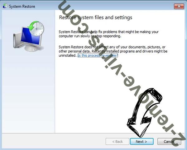 Get rid of Rootiunik ransomware - restore init